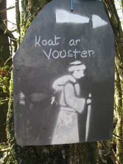 Suivez le moine de Koad ar Vouster