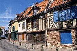 Les maisons typiques du quartier Saint Leu amiens Somme