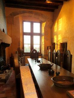 Salle de gardes Chateau de Tennessus