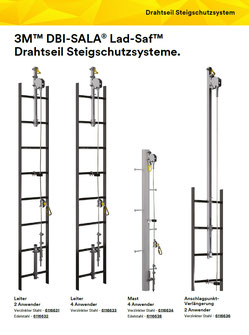 3M DBI-SALA Lad-Saf Steigschutzsystem