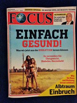 Die Focus-Titelstory vom 13. Oktober 2014 / Ausgabe 42 /14