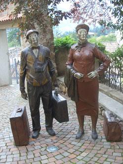 Bild aus dem Tourismus Museum -Meran