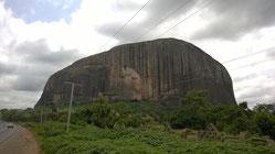 Zuma Rock - Das Eingangstor von Abuja