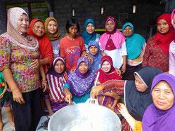 活性化した女性グループ