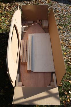 Bild: Bausatz Holzteile von Seifenkiste-Bausatz.de