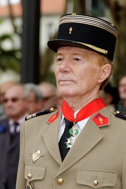 Jean Dominois, commandeur de la Légion d'honneur le 11 novembre 2012 - aaalat-languedoc-roussillon.fr