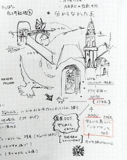 Die Wanderfalken am Dom wurden von Delegationsmitglied Yuki Yoshida im Bild festgehalten.  Bild: R. Michalski