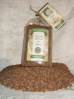 Ustica's famous lentil production