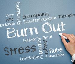 Symptome von Burnout