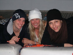 Steffi, Chris, Sabine