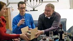Andre Rieder nimmt Abschied von Freunden