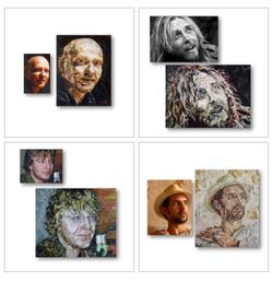 Portraits nach Fotovorlage