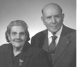 Genitori di Guglielmo Giaquinta - 1964