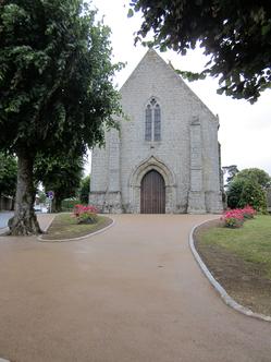 Enrobé ocre à liant végétal - Eglise de Magny-le-Désert (61) - TTA
