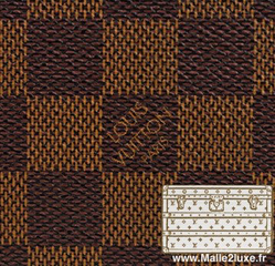 Louis Vuitton checkered canvas reissue 1996