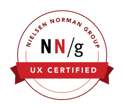 NNG UX Certificate Badge