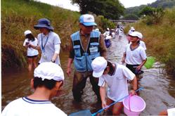 自然環境学習会の様子