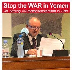 Mathias Tretschog - 19.06.2018 - Genf: Peace for Yemen - United Nations Geneva