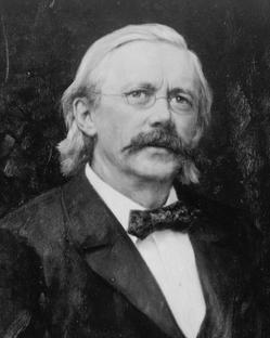 Prof. Richard Faltin, um 1900