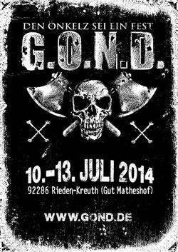 G.O.N.D. 2014