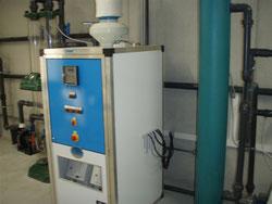 Wascgwasser Aufbereitung für Maschinen