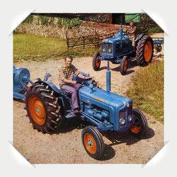 Fordson Major Traktor