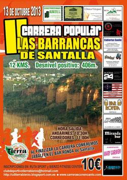 Barrancas de Santalla