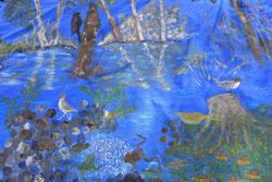 Blaues Band - Ausschnitt Foto: M. Kühn