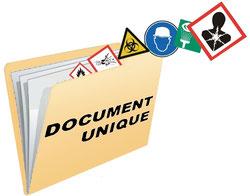 Réalisation du document unique personnalisé