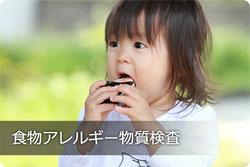 食物アレルギー物質検査