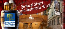 Bräustüberl Zum Schrödl Wirt Nürnberg Logo