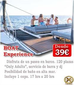 fiesta en barco El Puerto de Santa María