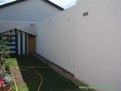 Wandbild Wand gemalt Garagenwand bemalen