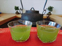 静香園の深蒸し茶水出し茶