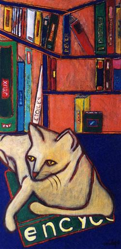 Le chat lettré vendu