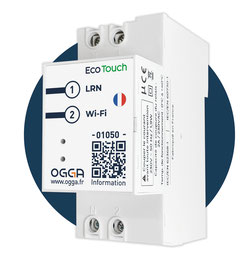 Eco-Touch is installed in the electrinal panel from which it can make you gain energy efficiency and reduce your energy consumption comsuption