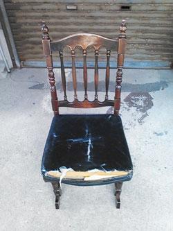 革張りの椅子