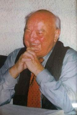 Vereinsgründer Hermann Bohnert