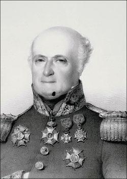 Général Jamin, commandant la 1ère brigade, 21ème division d'infanterie