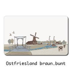 Ostfriesische Landschaft, Souveniers, pastell