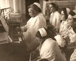 Chorale de jeunes filles de l'église St Martin
