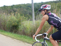 Frauen auf dem Fahrrad