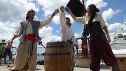 Compagnie d'Azur Pirate Théâtre Musique Escrime artistique