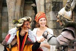 Compagnie d'Azur Théâtre médiéval Musique Masque