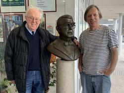 Gazmend Freitag und Adolf Öhler, Seniorenzentrum Franz Hillinger in Linz, 10.04.2019