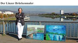 Gazmend Freitag: Der Linzer Brückenmaler. PHOTO: WILSON HOLZ