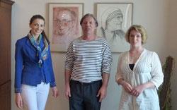 Gazmend Freitag, Sonjuschka, Keti Berisha, Albanische Botschaft in Wien