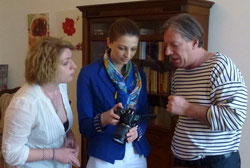 Gazmend Freitag, Sonjuschka, Keti Berisha, Albanische Botschaft in Wien, 2015