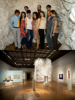 Young Americans / View of Exhibition.  Mills College Art Museum, 2009