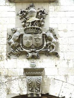 Le blason des seigneurs de Méricourt-sur-Somme